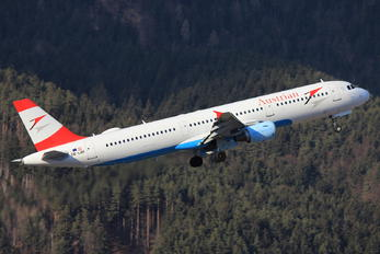 OE-LBF - Austrian Airlines/Arrows/Tyrolean Airbus A321
