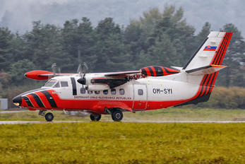 OM-SYI - Slovakia - Civil Aviation Authority LET L-410 Turbolet