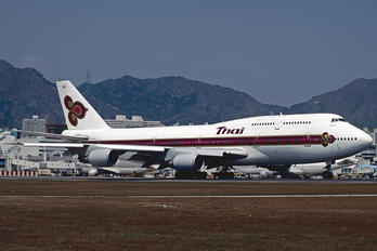 HS-TGD - Thai Airways Boeing 747-300