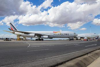 EC-MQM - Plus Ultra Airbus A340-300