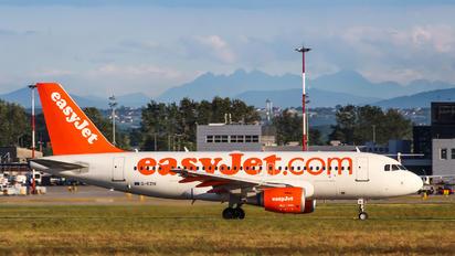 G-EZIK - easyJet Airbus A319
