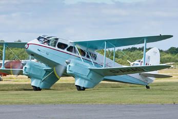 G-AHAG - Scillonia Airways de Havilland DH. 89 Dragon Rapide