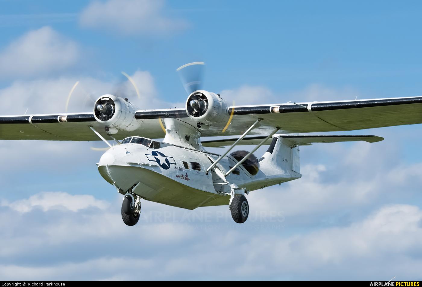Catalina Aircraft G-PBYA aircraft at Blackbushe