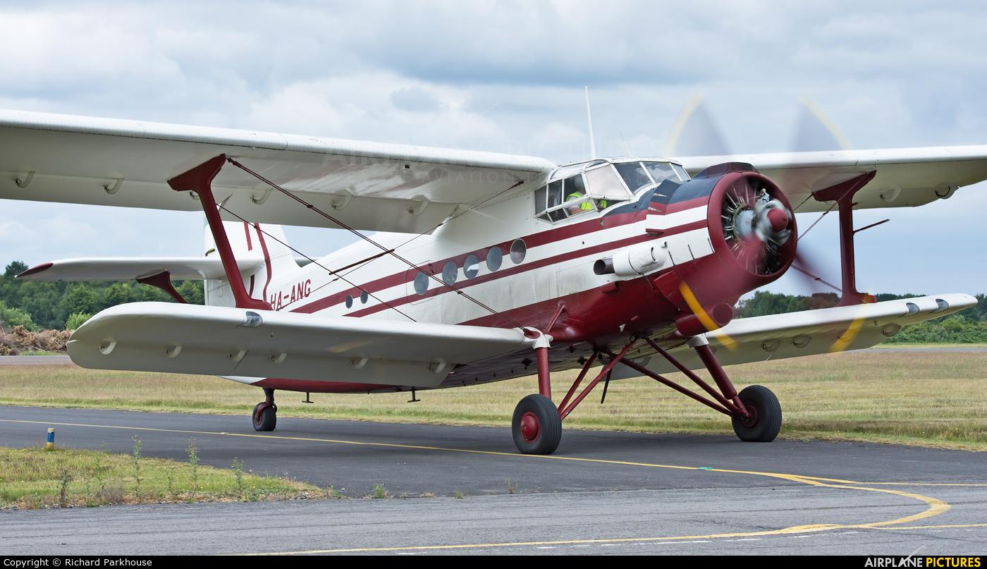 Private HA-ANG aircraft at Blackbushe