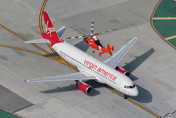 N839VA - Virgin America Airbus A320