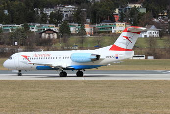 OE-LFJ - Austrian Airlines/Arrows/Tyrolean Fokker 70