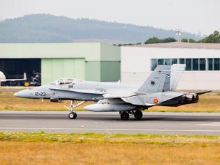 C.15-65 - Spain - Air Force McDonnell Douglas EF-18A Hornet