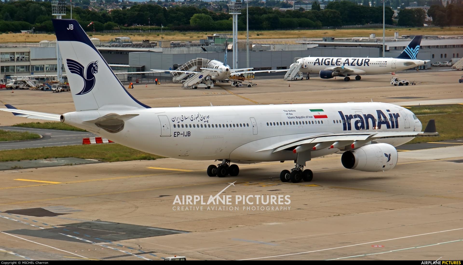 Iran Air EP-IJB aircraft at Paris - Orly
