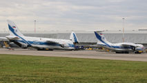 Volga Dnepr An124 & Il-76 at East Midlands airport  title=
