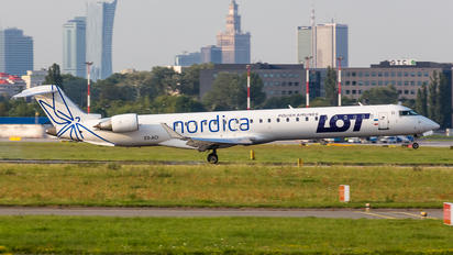 ES-ACI - LOT - Polish Airlines Bombardier CRJ 900ER