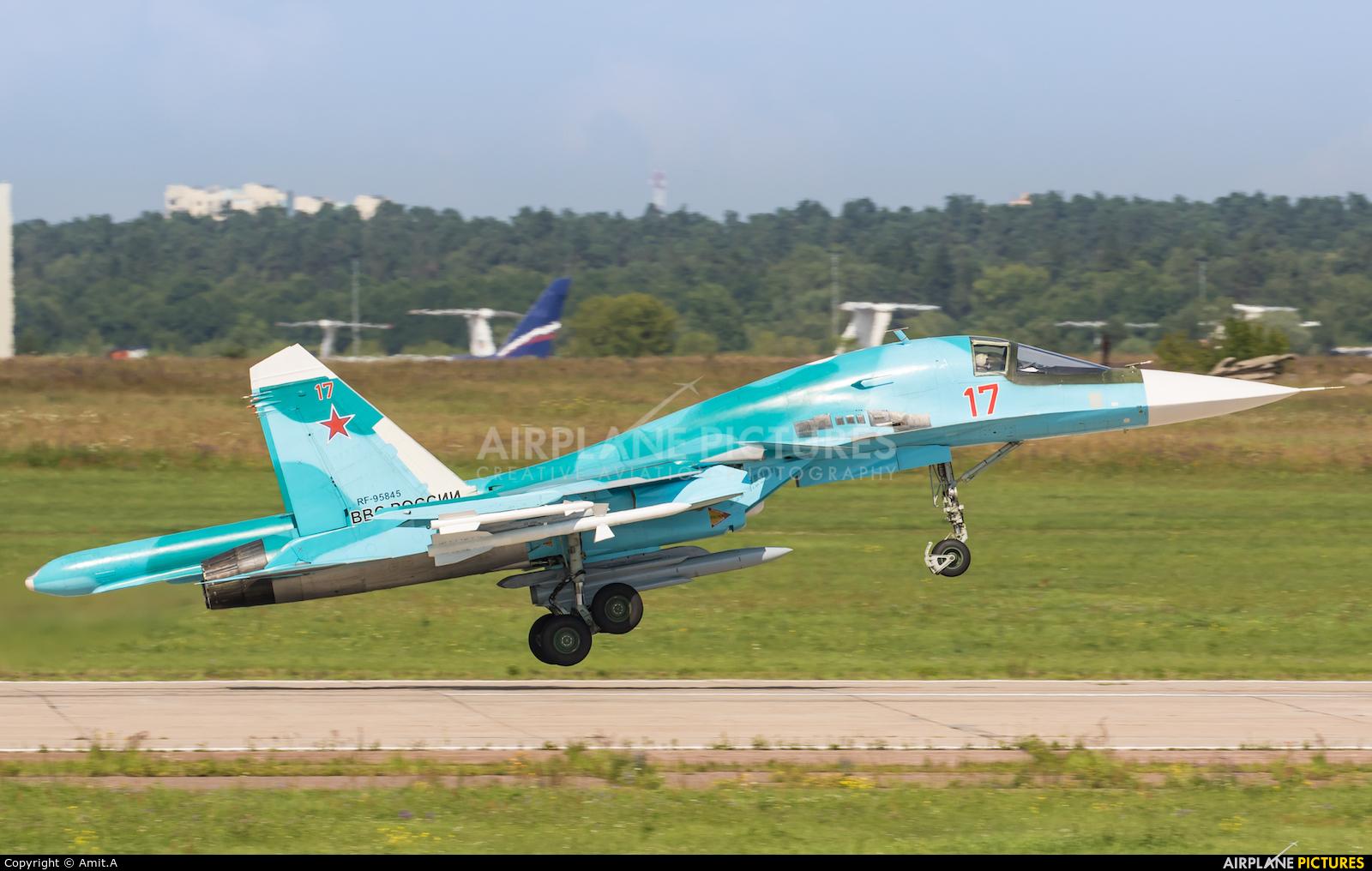 Russia - Air Force 17 aircraft at Ramenskoye - Zhukovsky