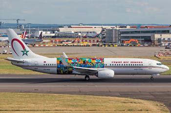 CN-RGH - Royal Air Maroc Boeing 737-800
