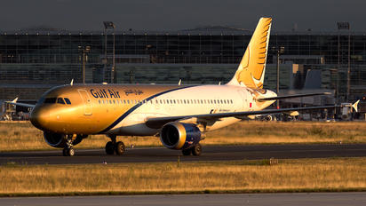 A9C-AM - Gulf Air Airbus A320