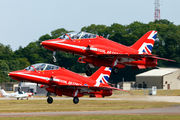 "XX244 - Royal Air Force ""Red Arrows"" British Aerospace Hawk T.1/ 1A aircraft"