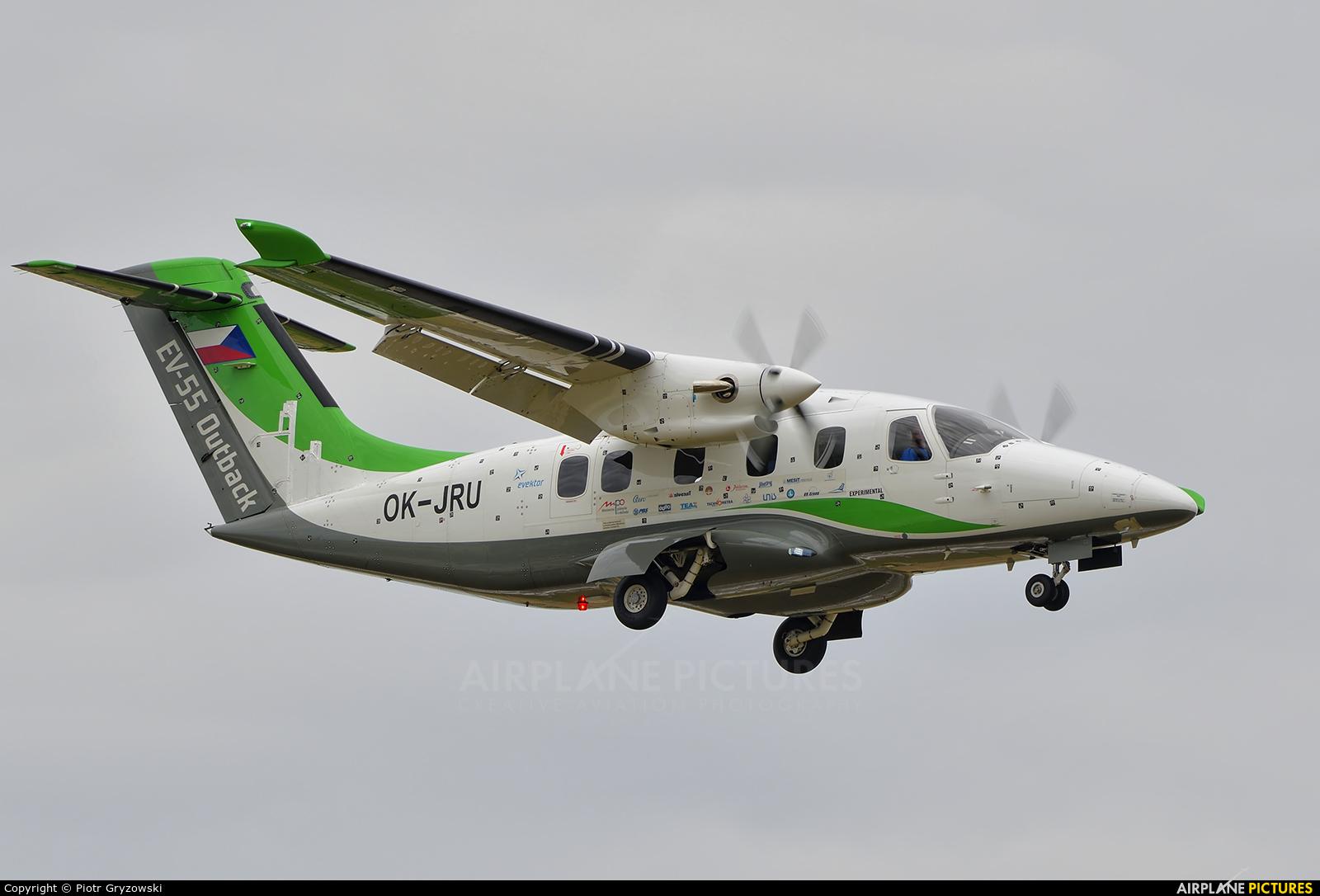 Evektor-Aerotechnik OK-JRU aircraft at Přerov