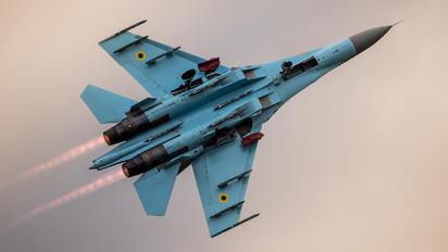 58 - Ukraine - Air Force Sukhoi Su-27