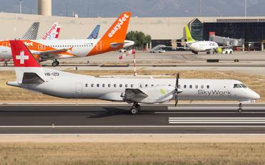 HB-IZD - Sky Work Airlines SAAB 2000