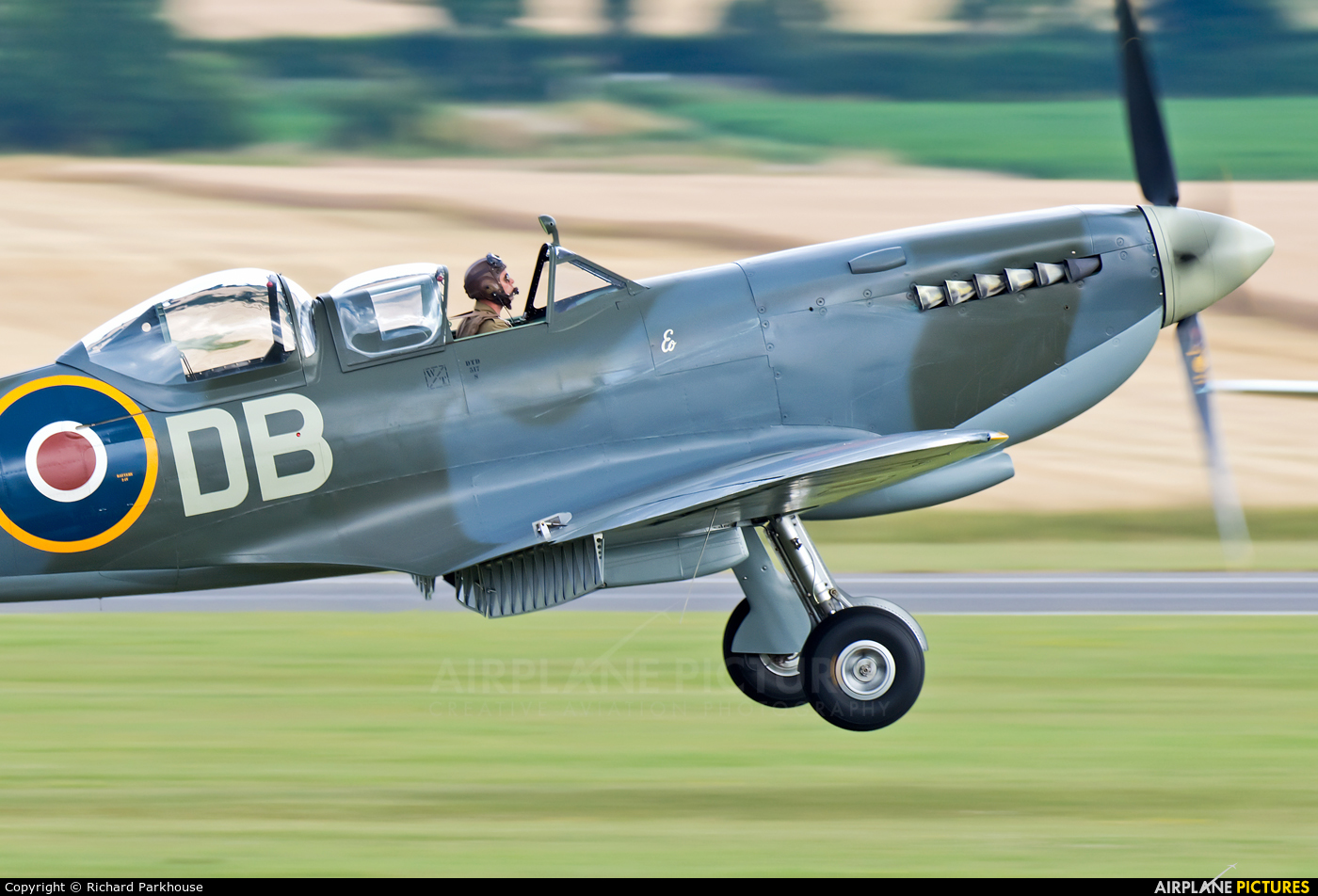 Aero Legends G-CICK aircraft at Duxford