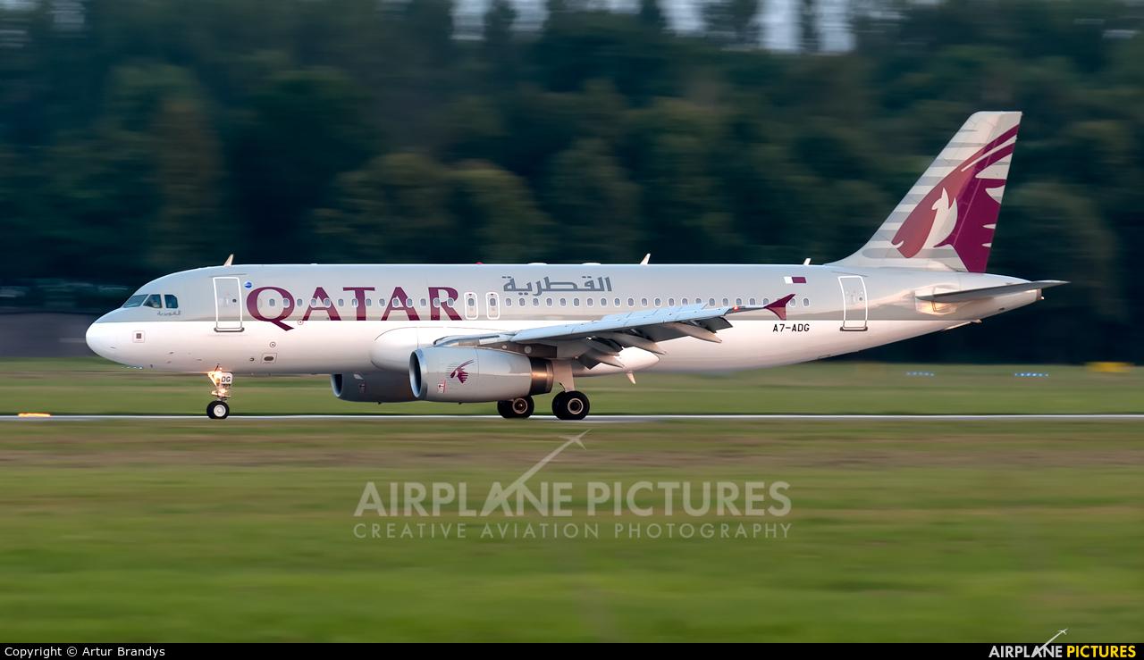 Qatar Airways A7-ADG aircraft at Kraków - John Paul II Intl