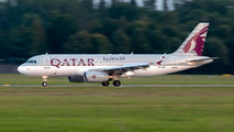 A7-ADG - Qatar Airways Airbus A320 aircraft