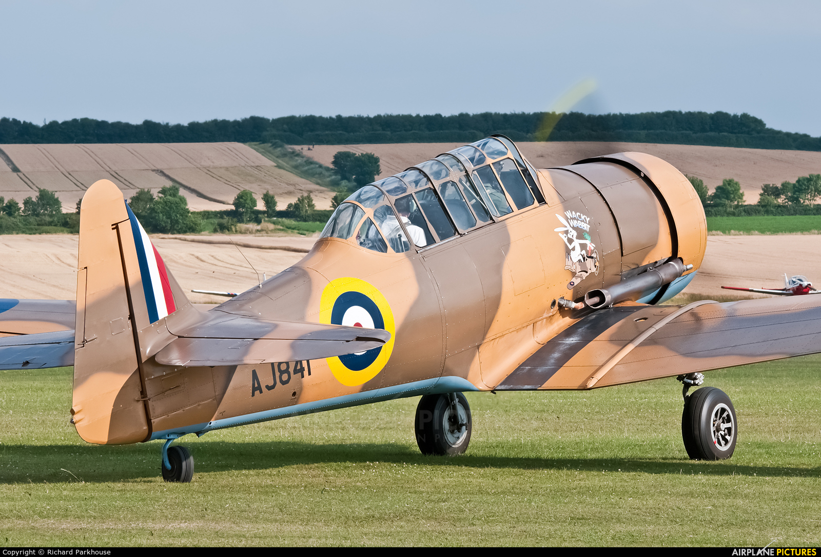 Private G-BJST aircraft at Duxford