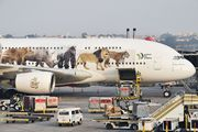 Emirates Airlines Airbus A380 A6-EOM aircraft