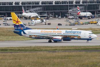 D-ASXP - SunExpress Germany Boeing 737-800