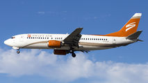 Swift Air B734 served as a charter for Real Madrid players on route to San Jose title=