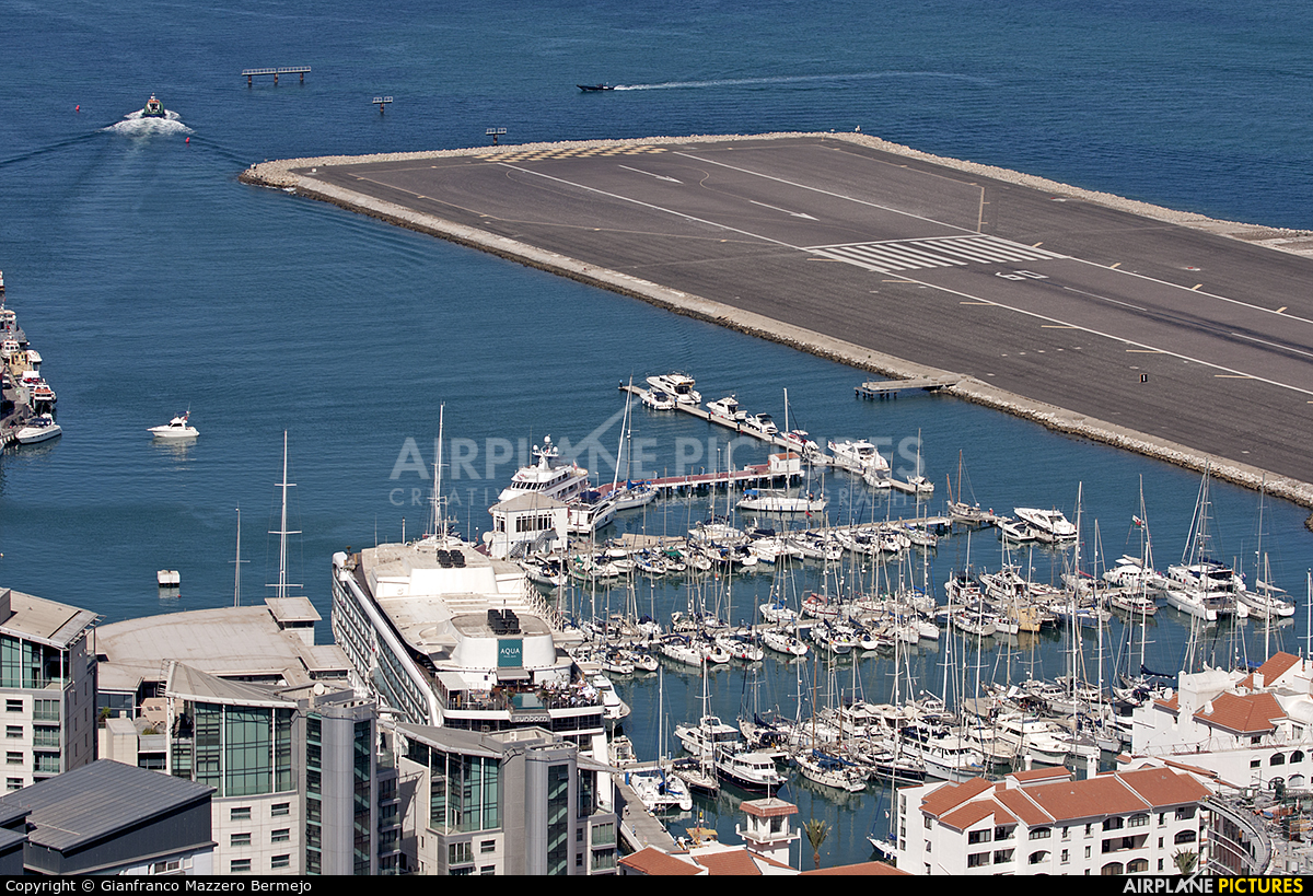 - Airport Overview LXGB aircraft at Gibraltar