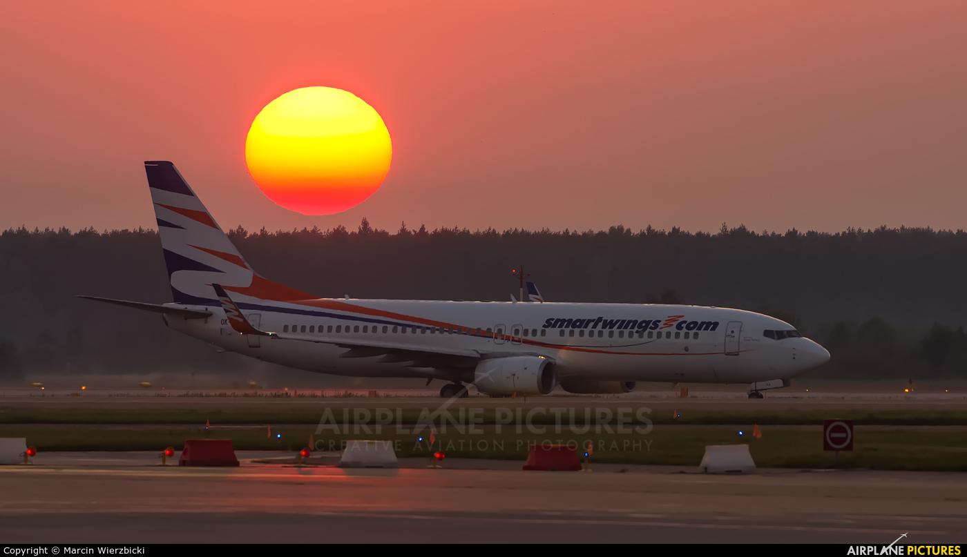 SmartWings OK-TVJ aircraft at Katowice - Pyrzowice