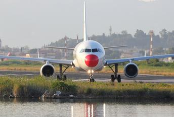 OY-RUS - Danish Air Transport Airbus A320