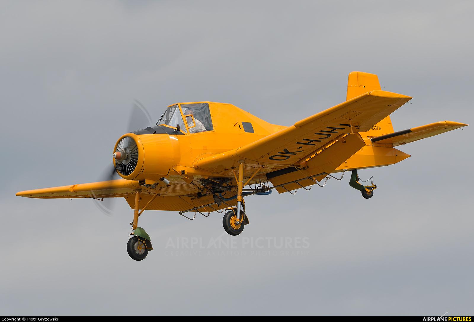 Private OK-HJH aircraft at Přerov