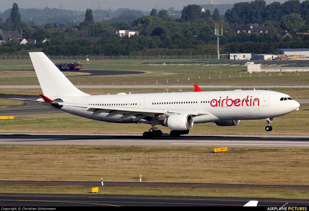 Air Berlin D-ABXG aircraft at Düsseldorf