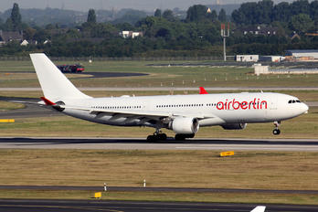 D-ABXG - Air Berlin Airbus A330-200