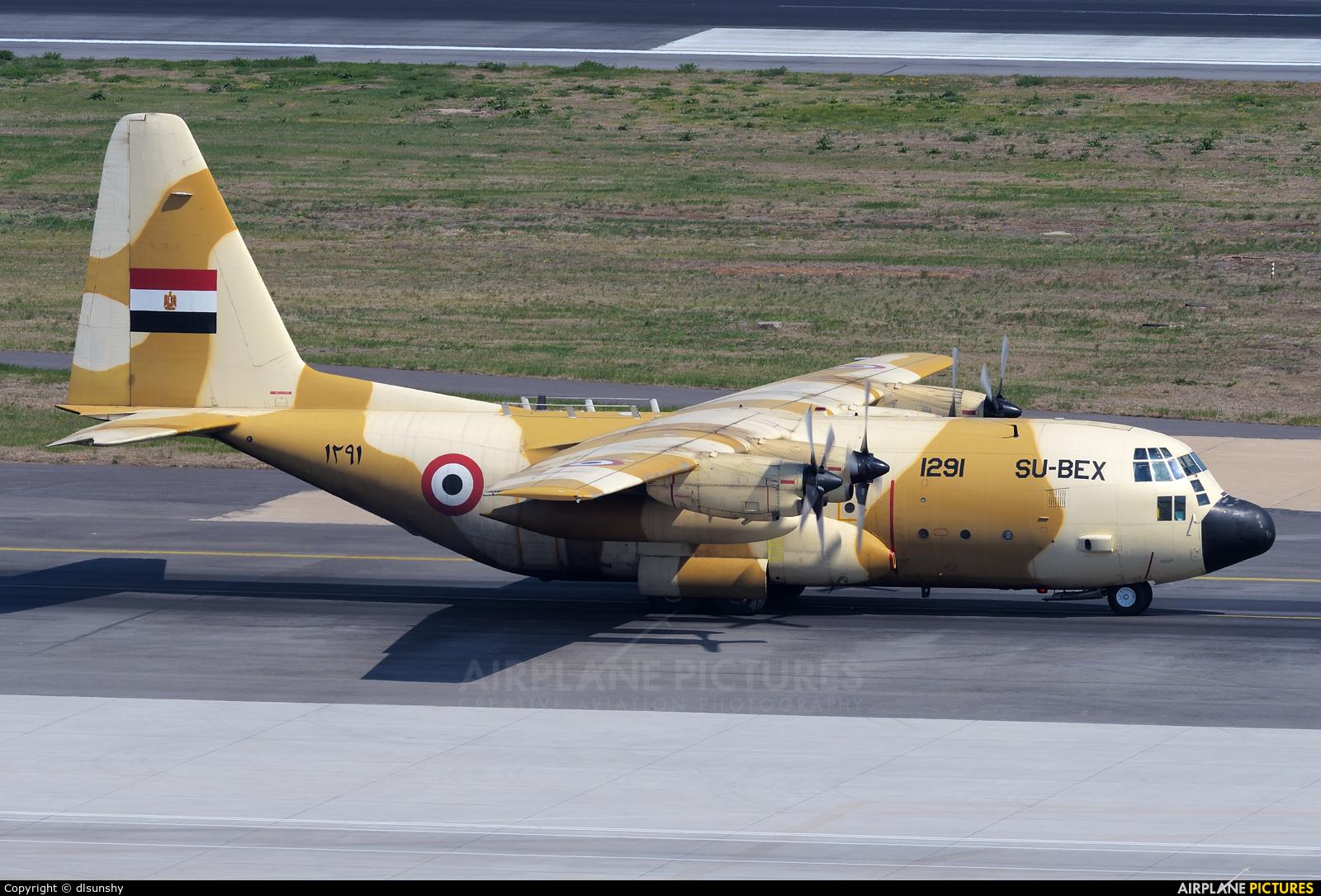 Egypt - Air Force SU-BEX aircraft at Dalian Zhoushuizi Int'l