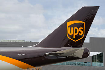 N607UP - UPS - United Parcel Service Boeing 747-8F