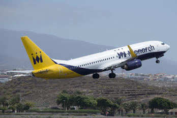 G-ZBAV - Monarch Airlines Boeing 737-800