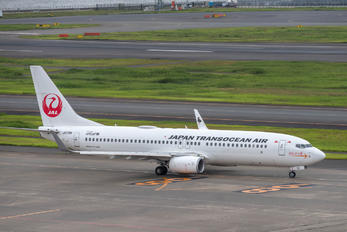 JA01RK - JAL - Japan Transocean Air Boeing 737-800