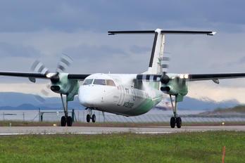 LN-WIU - Widerøe de Havilland Canada DHC-8-100 Dash 8