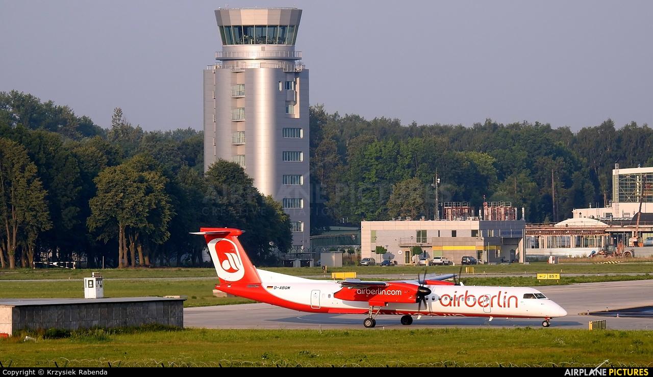 Air Berlin D-ABQM aircraft at Kraków - John Paul II Intl