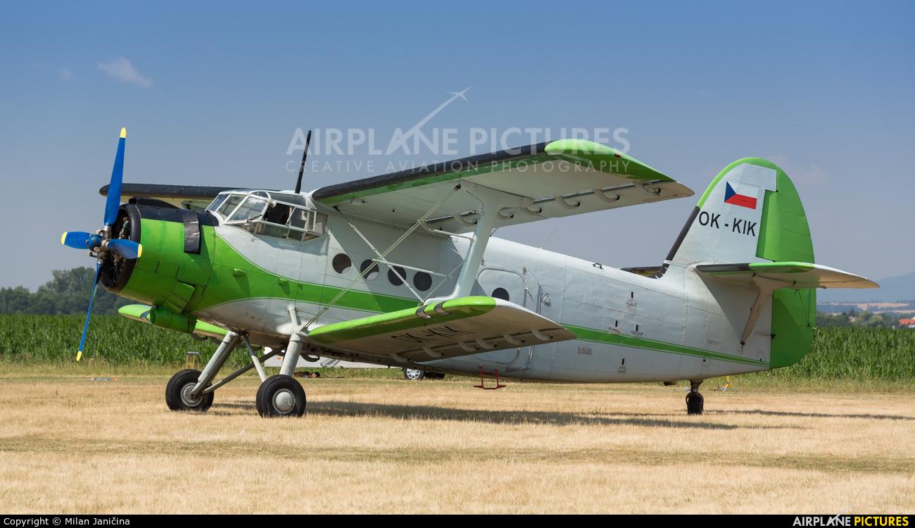Private OK-KIK aircraft at Partizanske