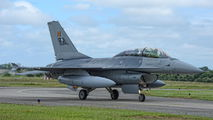 FB-15 - Belgium - Air Force General Dynamics F-16B Fighting Falcon aircraft