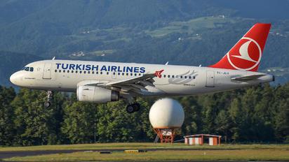 TC-JLU - Turkish Airlines Airbus A319