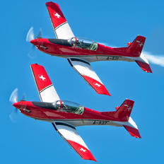 A-937 - Switzerland - Air Force: PC-7 Team Pilatus PC-7 I & II
