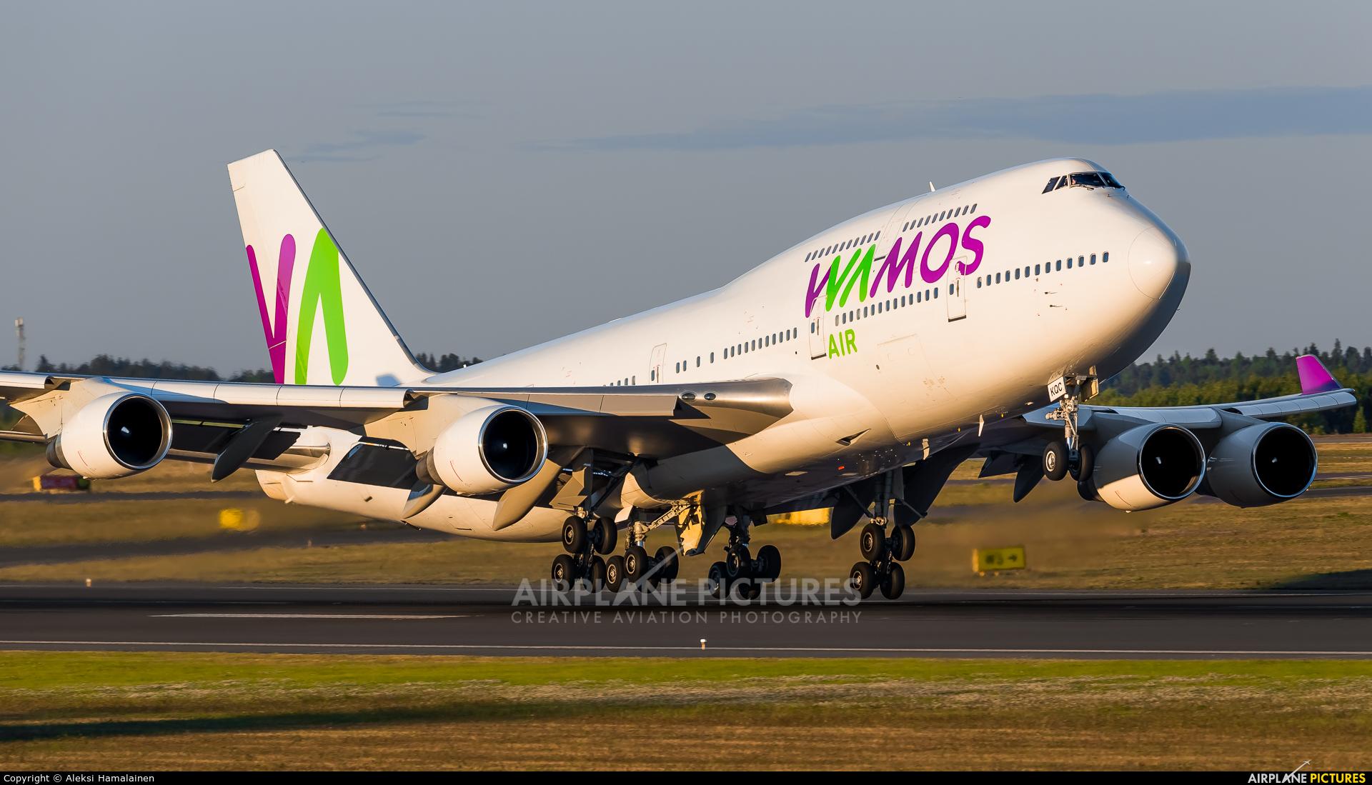Wamos Air EC-KQC aircraft at Helsinki - Vantaa