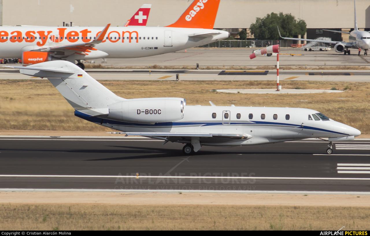 Air X D-BOOC aircraft at Palma de Mallorca