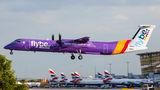 Flybe de Havilland Canada DHC-8-402Q Dash 8 G-PRPC at London - Heathrow airport