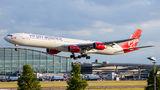 Virgin Atlantic Airbus A340-600 G-VRED at London - Heathrow airport