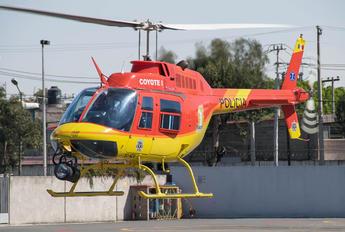 XC-NZA - Mexico - Police Bell 206B Jetranger III
