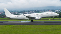 NAC Embraer 190 arrived to Costa Rica for painting title=